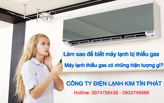 Cách Kiểm Tra Ga Máy Lạnh Thiếu Gas